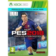 Pro Evolution Soccer 2018 (Русские субтитры) (Xbox 360)