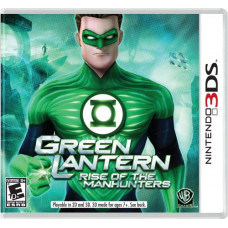 Green Lantern Rice of the Manhunters (3DS)