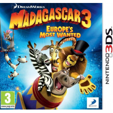 Мадагаскар 3: Europe's Most Wanted (3DS)