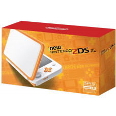 New Nintendo 2DS XL White Orange (Оранжевая-Белая)