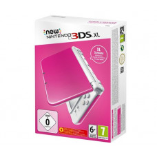 New Nintendo 3DS XL White Pink (Розово-Белая)