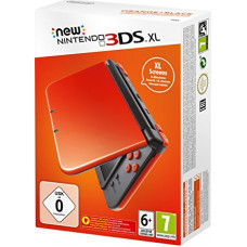 New Nintendo 3DS XL Orange Black (Оранжево-Черная)
