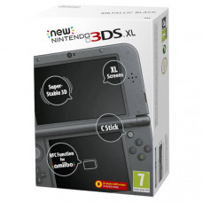 New Nintendo 3DS XL Black (Черная)