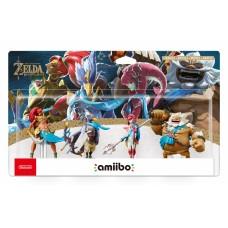 Фигурки amiibo Набор из 4-х фигурок Урбоса + Ревали + Мифа + Дарук (коллекция The Legend of Zelda)
