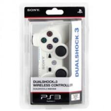 Джойстик беспроводной для Sony DualShock 3 (белый)