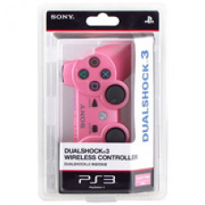 Джойстик беспроводной для Sony DualShock 3 (розовый)