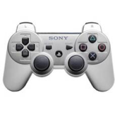 Джойстик беспроводной для Sony DualShock 3 (серебро)