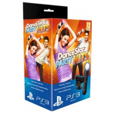 PlayStation Move: Контроллер движений PS Move + Камера PS Eye + диск DanceStar Party Hits