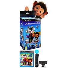 PlayStation Move: Контроллер движений PS Move + Камера PS Eye + диск Eye Pet и друзья