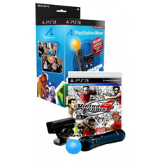 PlayStation Move: Starter Pack + Virtua Tennis 4 (PS3)