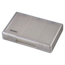 Коробка 30+2 Hama для игровых картриджей PlayStation Vita, серебристый,