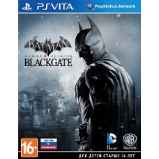 Batman: Arkham Origins Blackgate (русские субтитры) (PS VITA)