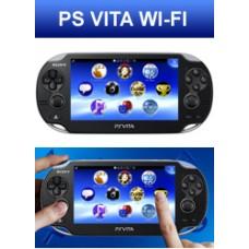 Портативная игровая приставка Sony PlayStation Vita Wi-Fi (Черная)
