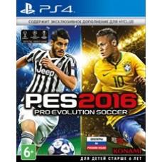 Pro Evolution Soccer 2016 (PES 16) (русские субтитры) (PS4)