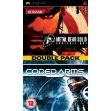 2 в 1 Metal Gear Solid:+ Coded Arms (PSP)