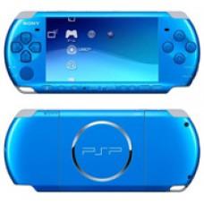 Игровая приставка Sony Playstation Portable (PSP) Slim&Lite 3000 Синяя