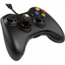 Проводной геймпад Xbox 360 (Черный)