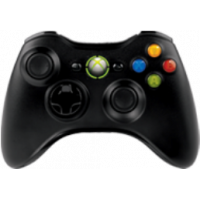 Wireless Controller Black (Xbox 360)