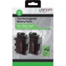 Комплект Venon для зарядки(2 аккумулятора,двойной зарядный кабель)(Xbox One)