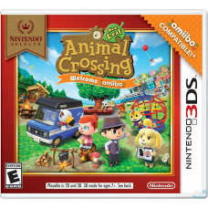 Animal Crossing: New Leaf Welcome amiibo + Бустер 1 карт (3DS)