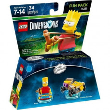LEGO Dimensions Fun Pack Simpsons (Bart, Gravity Sprinter)