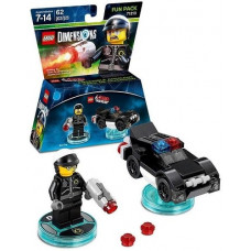 LEGO Dimensions Fun Pack - Lego Movie (Bad Cop, Police Car)