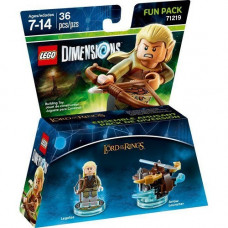 LEGO Dimensions Fun Pack - Lord of the Ring (Legolas, Arrow Launcher)