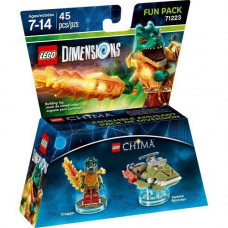 LEGO Dimensions Fun Pack Lego Legend of Chima (Cragger, Swamp Skimmer)