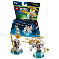 LEGO Dimensions Fun Pack - Lego Ninjago: Masters of Spinjitzu (Sensei Wu, Flying White Dragon)