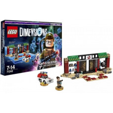 LEGO Dimensions Story Pack - Ghostbusters (Zhu's Chinese Restaurant, Abby Yates, Ecto-1)