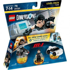 LEGO Dimensions Level Pack - Mission Impossible (Ethan Hunt, IMF Sport Car, IMF Scrambler)
