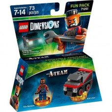 LEGO Dimensions Fun Pack - The A-Team (B.A. Baracus, B.A.'s Van)