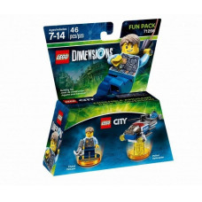 LEGO Dimensions Fun Pack - LEGO City (Chase McCain, Police Chopper)