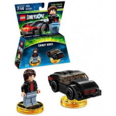 LEGO Dimensions Fun Pack Knight Rider (Michael Knight, K.I.T.T.)