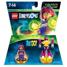 LEGO Dimensions Fun Pack Teen Titans Go (Starfire, Titan Robot)