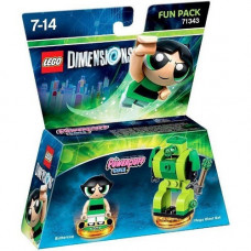 LEGO Dimensions Fun Pack - Games Powerpuff Girls (Buttercup, Mega Blast Bot)