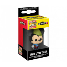 Брелок Funko Pocket POP! Keychain: Disney: Mickey's 90th: Brave Little Tailor 32174-PDQ