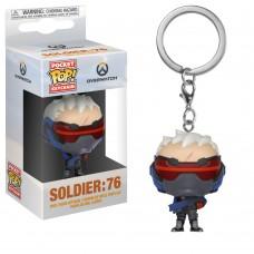 Брелок Funko Pocket POP! Keychain: Overwatch: Soldier 76 32774-PDQ