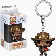 Брелок Funko Pocket POP! Keychain: Overwatch: McCree 37439-PDQ