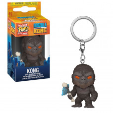 Брелок Funko Pocket POP! Keychain: Godzilla Vs Kong: Kong w/Battle Axe 50958-PDQ