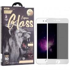 Защитное стекло для iPhone 7 /8 / SE (2020) Антишпион Remax Emperor Series 9D (GL-35) - Белое