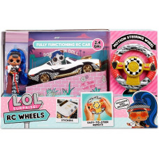 Машина на радиоуправлении с куклой MGA Entertainment LOL Surprise RC Wheels (569398)