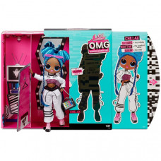 Кукла L.O.L. Surprise OMG Series 3 Chillax Fashion Doll with 20 Surprises (570165)