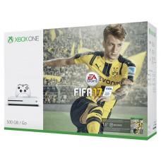 Игровая приставка Microsoft Xbox One S 500 ГБ + FIFA 17