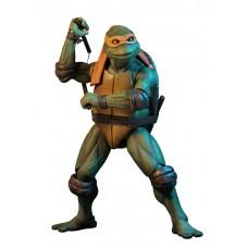 """Фигурка NECA Teenage Mutant Ninja Turtles - 7"""" Scale Action Figure - 1990 Movie Michelangelo 54074"""