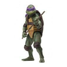 """Фигурка NECA Teenage Mutant Ninja Turtles - 7"""" Scale Action Figure - 1990 Movie Donatello 54076"""