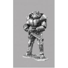 Фигурка оловянная X–01 силовая броня. Воин из игры Fallout 4 (Gm-07 РН)