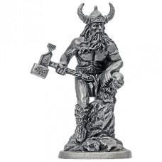 Фигурка оловянная Тор, бог грома и бури (H&L-06 ЕК)