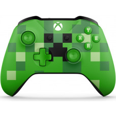 Беспроводной геймпад Xbox One S Minecraft Creeper