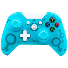 Беспроводной геймпад Controller Wireless N-1 2.4G (Бирюза) (Xbox One / PS3 / PC)